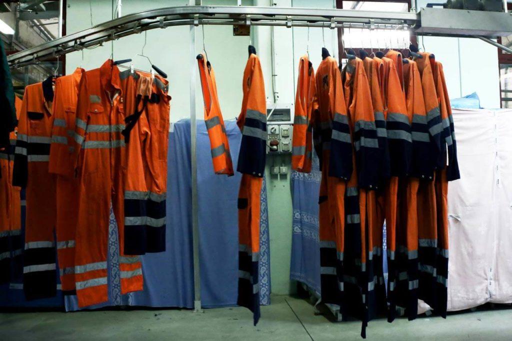 Sanificazione con ozonizzatore di abiti da lavoro, DPI, ambienti 5